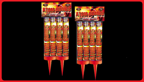 Atom Bombs  Twin Pack